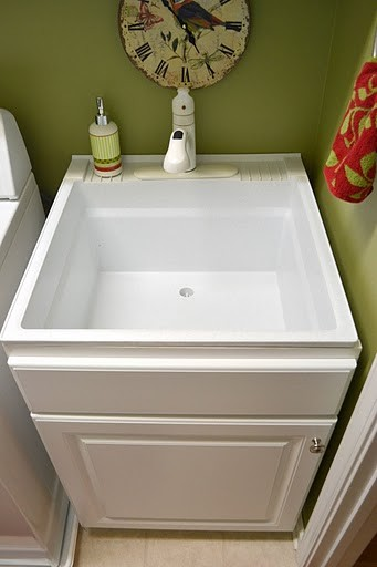 Utility Room Sink : laundry room cabinet storage solutions ds woods custom laundry room ...