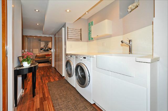 The Beaches contemporary-laundry-room