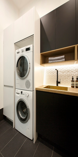 The Block 2016- Laundries modern-laundry-room