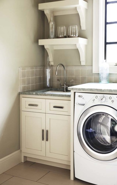 The Cliffs at Walnut Cove: Elliot Residence contemporary-laundry-room