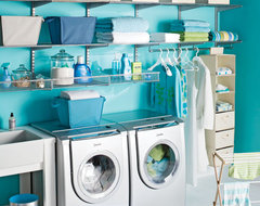 The Container Store > Platinum elfa Laundry Center contemporary-laundry-room