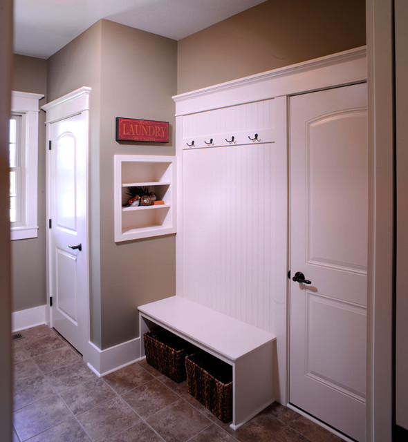 The Meadows ~ Wooster, OH traditional-laundry-room