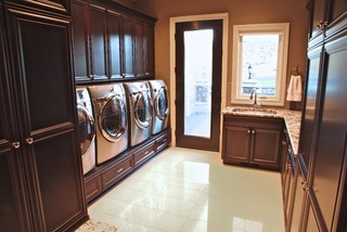 The Regency Contemporary Laundry Room Seattle By