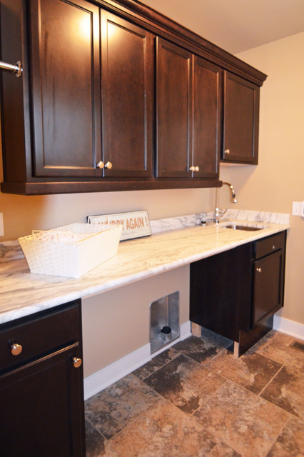 The Seaside Model Home Patchen Wilkes contemporary-laundry-room