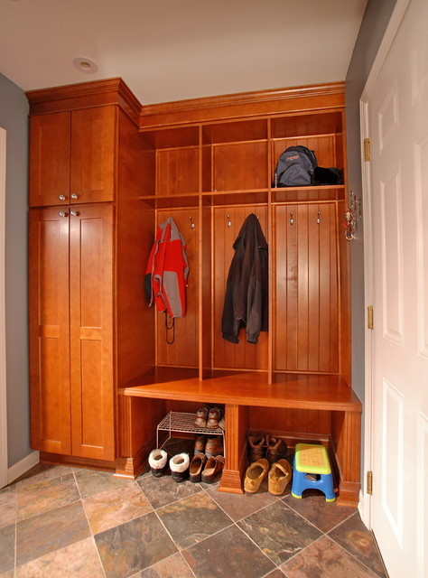 the sound of music - the mudroom traditional-laundry-room