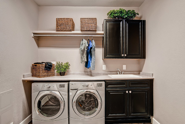 The Telluride- Oakwood Homes traditional-laundry-room