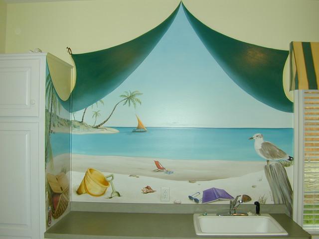 Theme Basements laundry-room