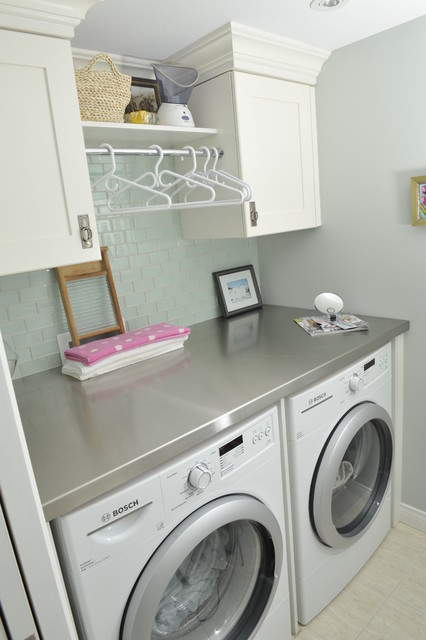 Thivierge Residence traditional-laundry-room