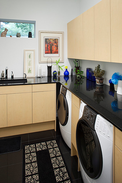 Thompson Residence modern-laundry-room