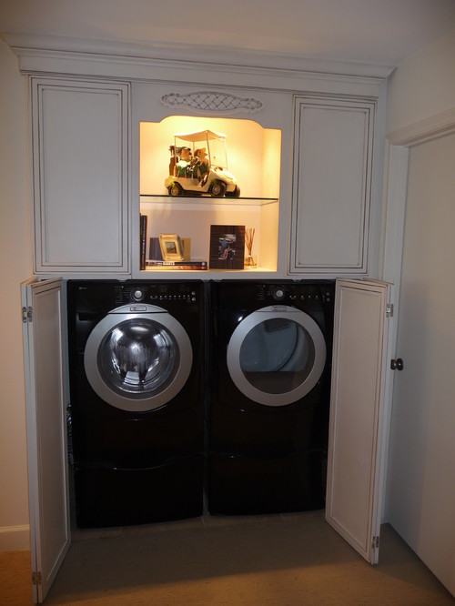enclosed washer dryer cabinet