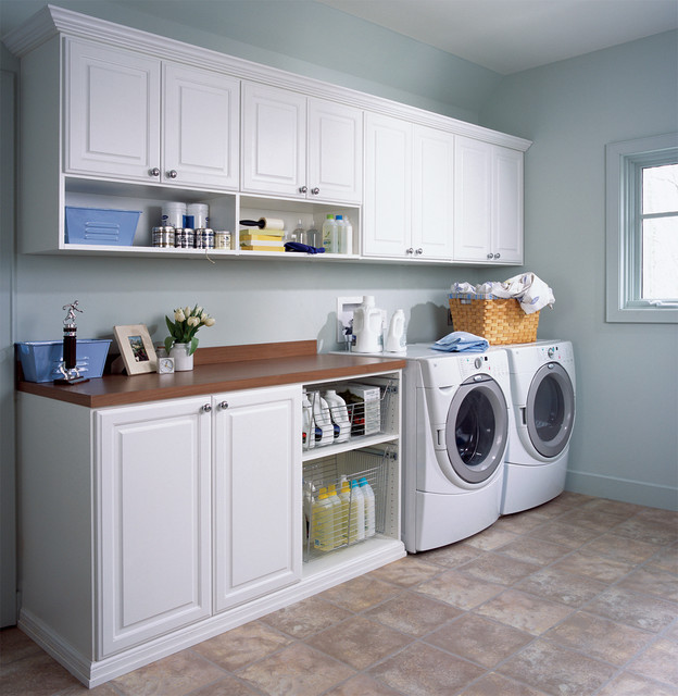 Traditional Laundry Room Contemporary