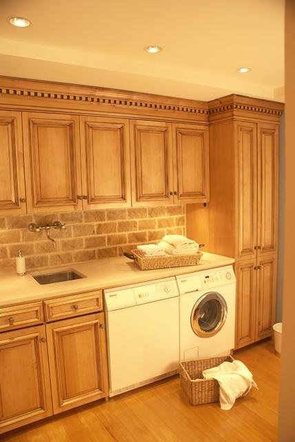 Custom Washing Room traditional-laundry-room