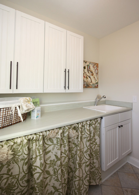 Project 4:  Everything Home by Wendy Langston transitional-laundry-room