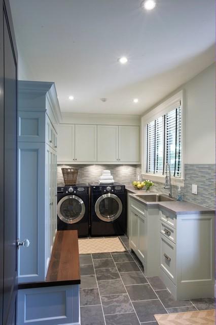 Trickett Laundry Room - Contemporary - Laundry Room ...