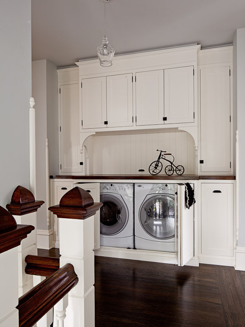 Turn Of The Century Modern Contemporary Laundry Room