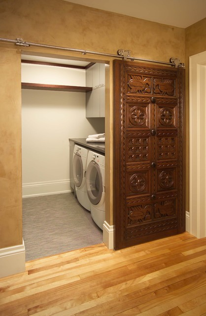 Turn Of The Century Remodel Eclectic Laundry Room