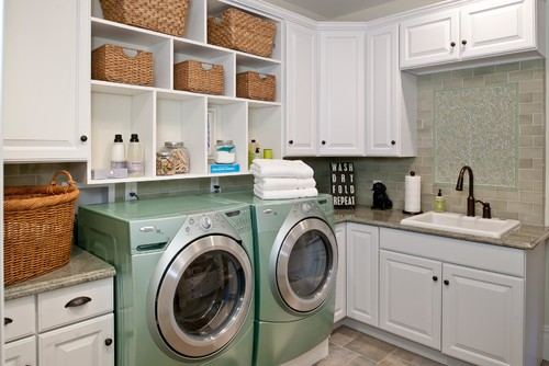 Laundry Room by Well-Designed Interiors