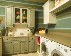 Van Singel Lake 2 traditional laundry room