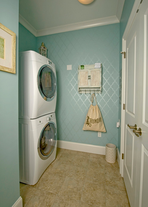 Vanguard Designer Showhouse 2014 ~ Loudon House Unit G Laundry Room