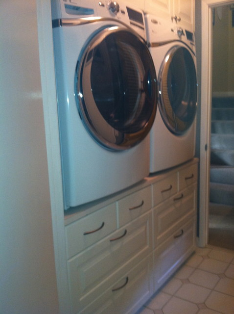 Washer Dryer Stand Traditional