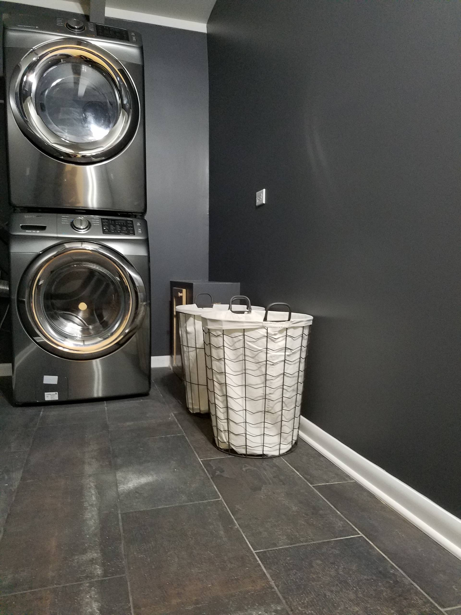 75 Beautiful Laundry Room With Black Walls Pictures Ideas March 2021 Houzz