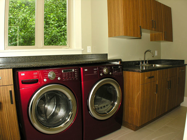 White Rock traditional-laundry-room