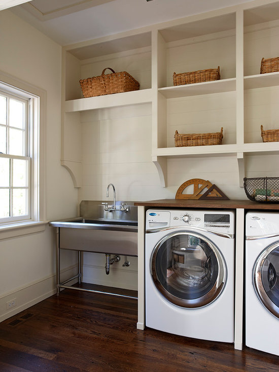 Bathroom corner sink small laundry room design ideas pictures remodel decor - Laundry room designs small spaces set ...