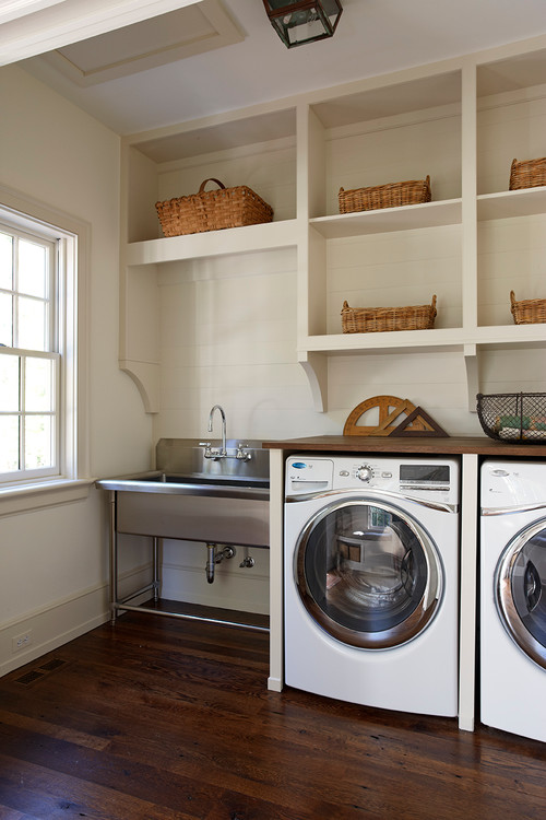Utility Room Sink : Size of Laundry room sink