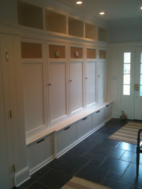 Mudroom Laundry Room Garage Entry