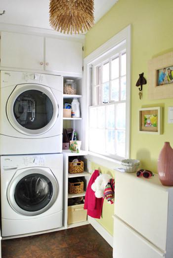 Young House Love laundry room eclectic-laundry-room