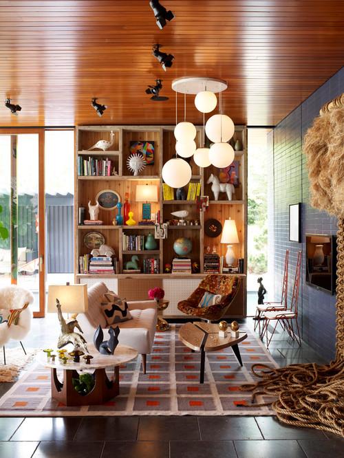 Bookshelves - Varying Heights