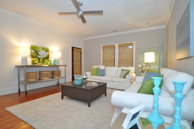 1019 Charles Ave. in Noda contemporary-living-room
