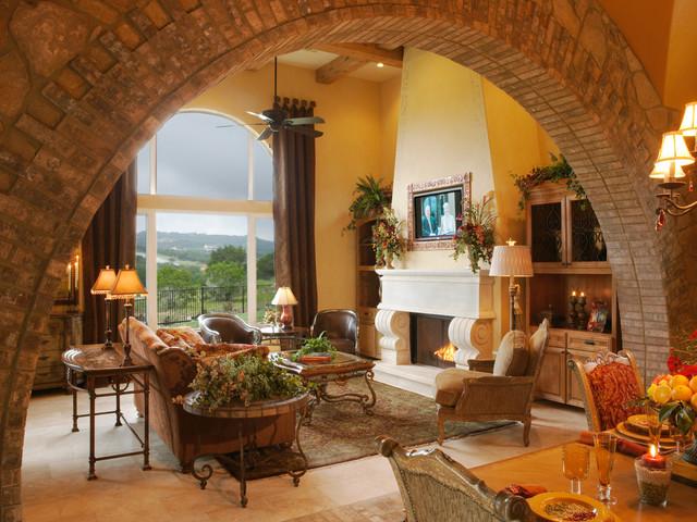 104 Shore Oaks mediterranean-living-room