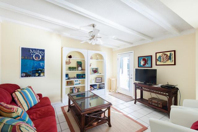 109 Maldonado Pensacola Beach, FL beach-style-living-room