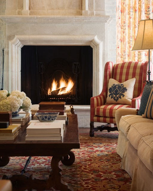 Mediterranean Style Living Room: 127th Street Project