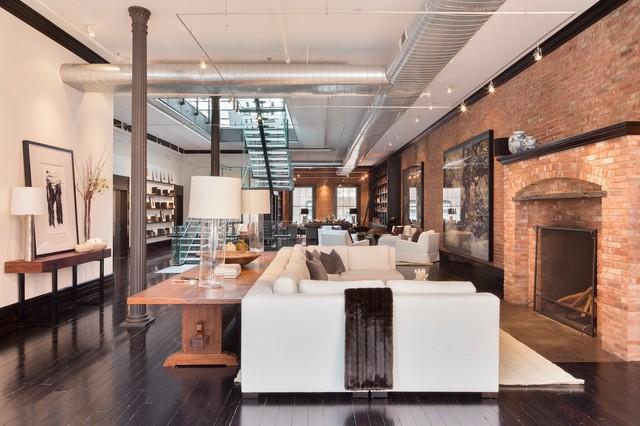 144 Duane St. NYC contemporary-living-room