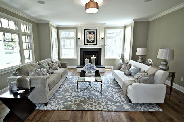 173 Tennyson Short Hills Traditional Living Room New