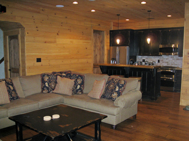 1780 in Nebo, NC rustic-living-room