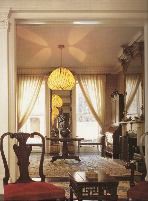 1850's Brownstone traditional-living-room