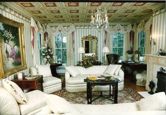 Interior Designers & Decorators. 1890s Mansion Restoration  traditional-living-room