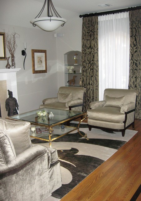1920 39 S Bungalow Transitional Living Room Los Angeles