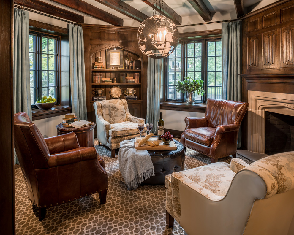1925 Assisi Residence - Traditional - Living Room ...
