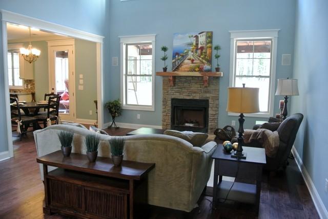 1944 Preserve Drive craftsman-living-room