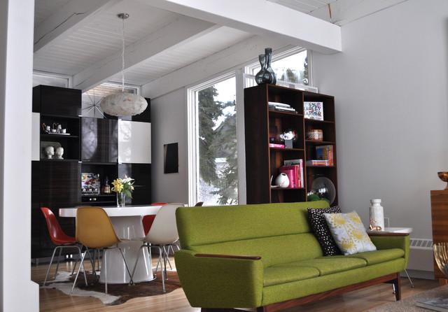 1958 mid century modern living room remodel ミッドセンチュリー