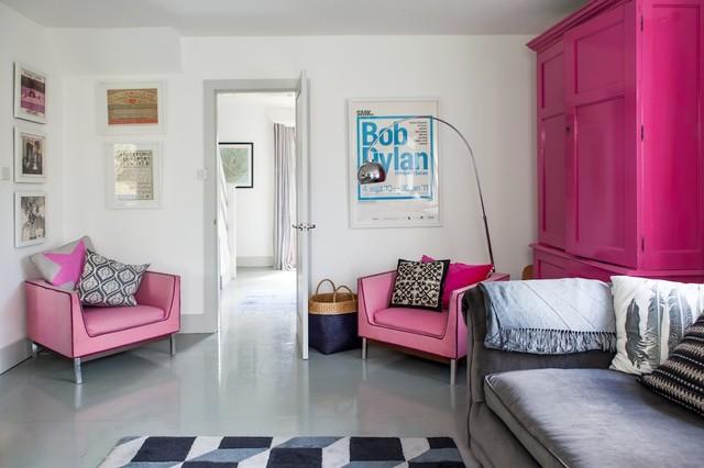 1960s House Beach Style Living Room