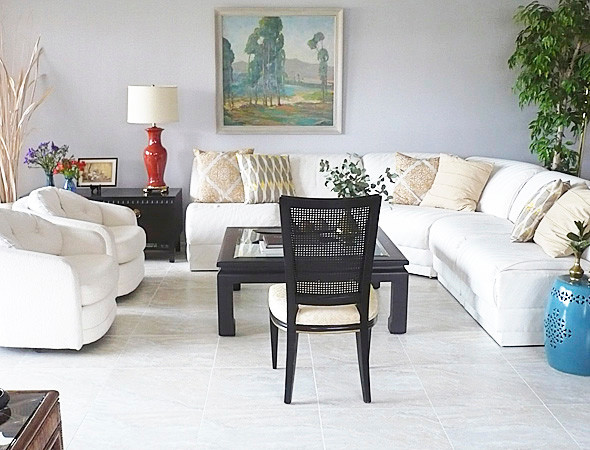 1970's Palm Springs RESTYLE traditional-living-room
