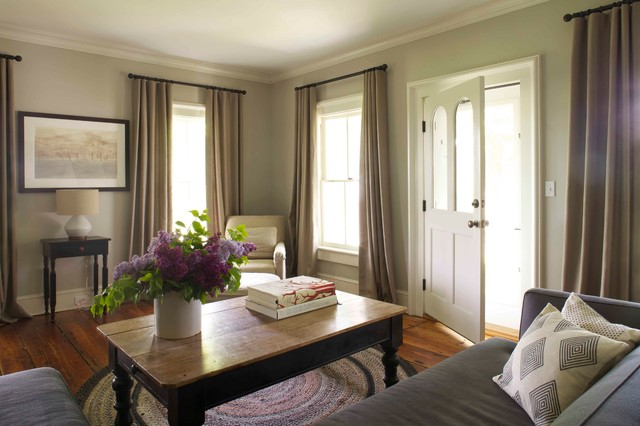 19th Century Farmhouse Renovation; updated photos by Mick Hales farmhouse-living-room