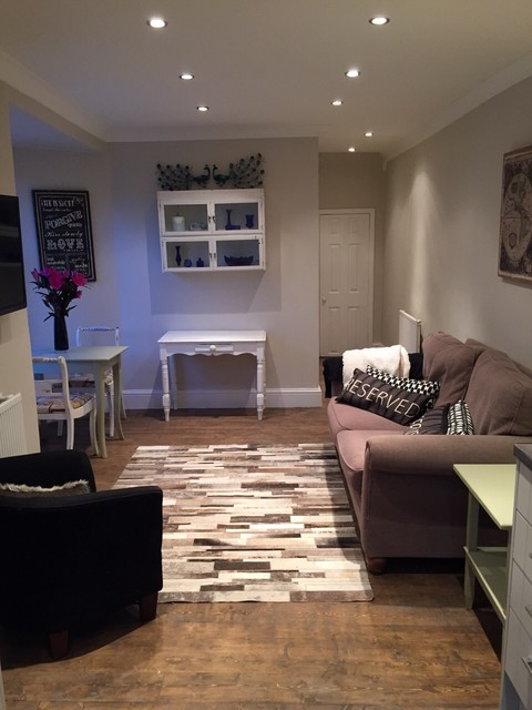 2 bedroom flat renovation in north london for Interior designers north london