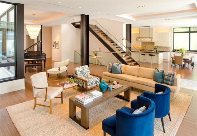 2. Chicago Renovation contemporary-living-room