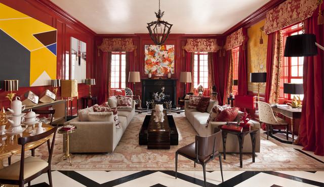 2 E. 63rd Street traditional-living-room